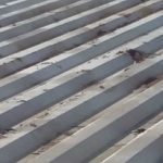 Metal Roof Rusted Panels