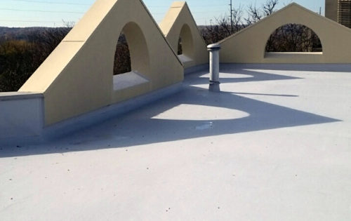 Commercial Flat Roof Repair and Restoration in Youngstown, Ohio