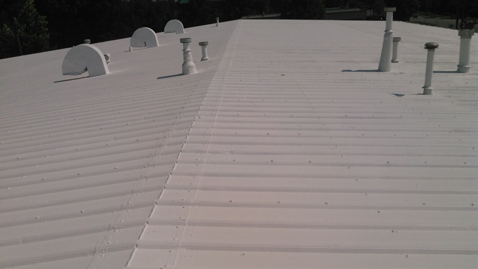 Metal Roof Restoration Case Study Simon Roofing