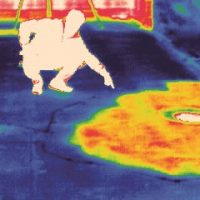 infrared technology - wet insulation