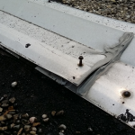 Expansion Joints-Fasteners Backing Out on Flat Commercial Roof