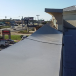 Unattached Coping on Flat Commercial Roof