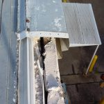 Drip Edge-Fascia-Damaged Fascia Meta on Flat Commercial Roof