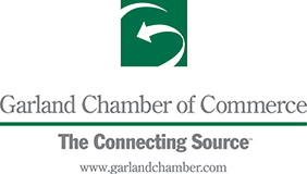 Proud member of the Garland Chamber of Commerce