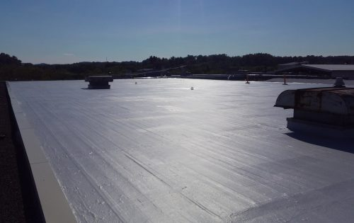 White flat roof youngstown ohio